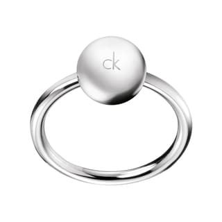 Calvin Klein Women's Poetry Stainless Steel Fashion Ring