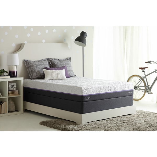 Optimum By Sealy Posturepedic Radiance Gold Cushion Firm Split California  King Size Mattress