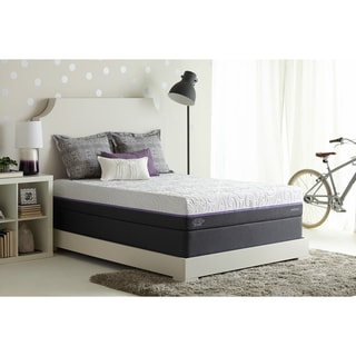 Optimum by Sealy Posturepedic Radiance Gold Cushion Firm Split California King-size Mattress