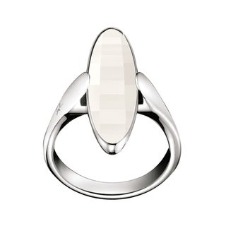 Calvin Klein Continuity Stainless Steel Oval Women's Fashion Ring