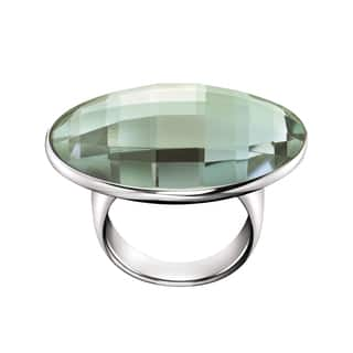 Calvin Klein Continuity Women's Green Stainless Steel Fashion Ring (Green) https://ak1.ostkcdn.com/images/products/12862201/P19624236.jpg?impolicy=medium