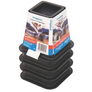 Shepherd 9523 4-ct Bed Risers