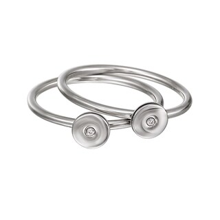 Calvin Klein Precious Women's Stainless Steel Fashion Ring (4 options available)