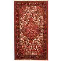Handmade Herat Oriental Persian Tribal Hamadan Wool Rug  - 2'6 x 4'5 (Iran)