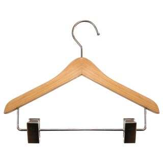 Mini Wooden Clothes/ Doll/ Pet/ Jewelry Hanger with Clips (Set of 12)