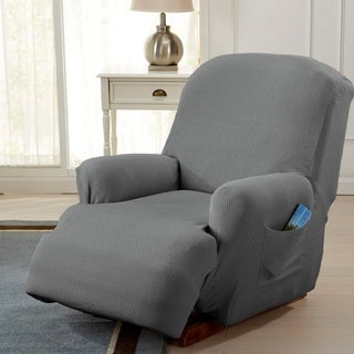 savannah collection strapless formfit stretch recliner slipcover furniture covers for chairs