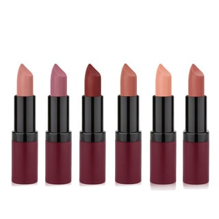 Golden Rose Velvety Matte 6-piece Lipstick Set