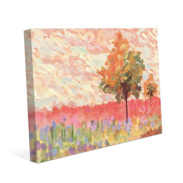 Amber Impression Wall Art on Canvas