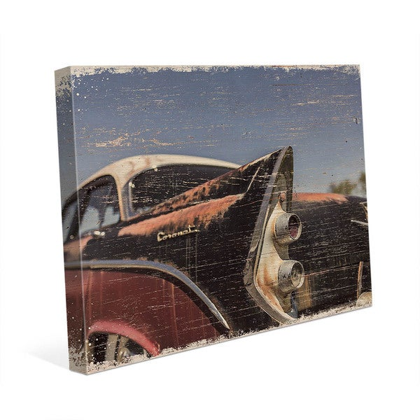 Shop Hot Rod Tail Slim Wall Art on Canvas - On Sale - Free Shipping ...