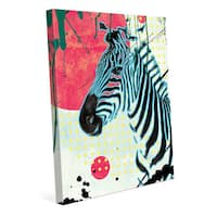 The Tranquil Zebra Wall Art on Canvas