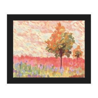 Amber Impression Framed Canvas Wall Art