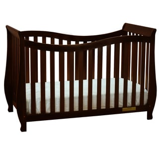 Mikaila Ella 4-in-1 Convertible Crib with Guardrail