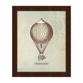 Le Ballon de la Vaux Framed Canvas Wall Art