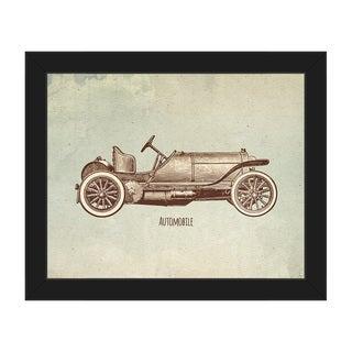 Automobile Framed Canvas Wall Art