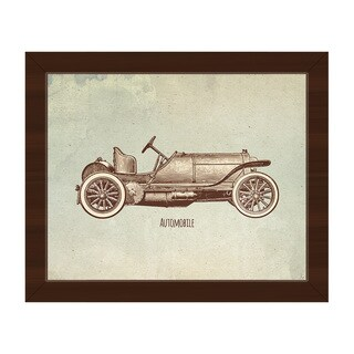 Automobile Framed Canvas Wall Art