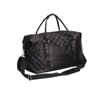 Preferred Nation Savvy Quilted Weekender Duffel Bag
