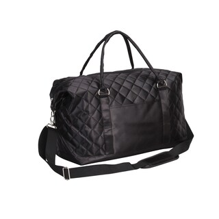 Preferred Nation Savvy Quilted Weekender Duffel Bag
