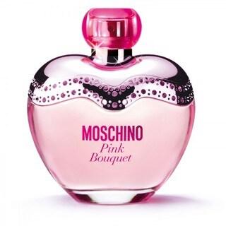 Moschino Pink Bouquet Women's 3.3-ounce Eau de Toilette Spray (Tester)