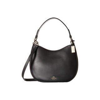 Coach Nomad Black Glove-tanned Leather Shoulder Handbag