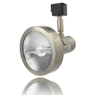 Lithonia Lighting LTH4000 PAR30 BN M24 Brushed-nickel Aluminum Front-loading 1-2 Circuit PAR30-compatible LED Track Head