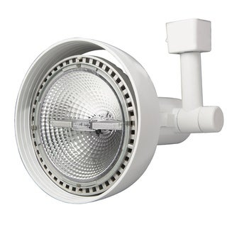 Lithonia Lighting LTH9000 PAR38 WH M12 White 5.5-inch x 9-5/8-inch Front-loading 1-2 Circuit PAR38-compatible Track Head