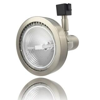 Lithonia Lighting Brushed Nickel Finish Aluminum Front Loading LED Track Head Light