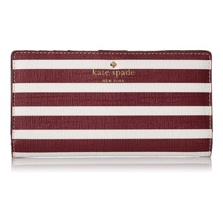 Kate Spade New York Fairmount Square Stacy Merlot Wallet