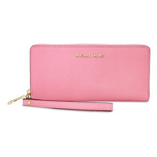 Michael Kors Jet Set Travel Misty Rose Continental Wallet