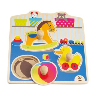 Hape My Toys Knob Puzzle