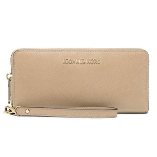 Michael Kors Jet Set Travel Bisque Continental Wallet