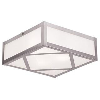 Livex Lighting Viper Acrylic Flush-mount 3-light Ceiling Fixture