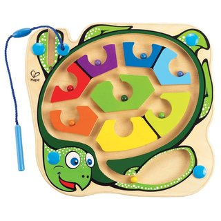 Hape Unisex Bamboo Colorback Sea Turtle Maze