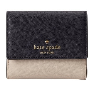 Kate Spade New York Cedar Street Tavy Crisp Linen/Off Shore Wallet