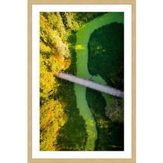 Marmont Hill - 'Pipeline' by Karolis Janulis Framed Painting Print