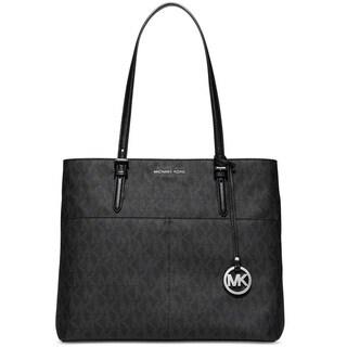 Michael Kors Bedford Black Large Pocket Tote Bag