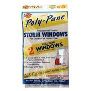 Warps 2P-24 2 Piece Storm Window Kit