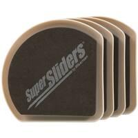 """Waxman Consumer Group 4734195N 5"""" Hide & Slide Furniture Sliders 4-ct"""