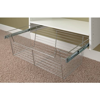 "Easy Track 9211-CH Easy Track 11"" Chrome Basket"