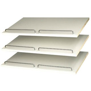 Easy Track RS1600 White Track Shoe Shelves
