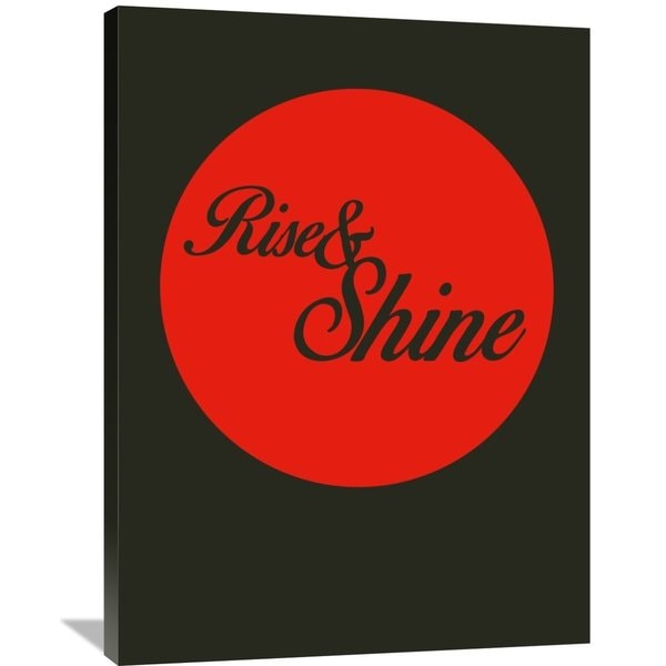 Naxart Studio 'Rise And Shine 3' Stretched Canvas Wall Art