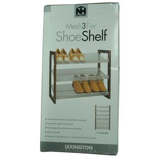 Organize It All 17053 3 Tier Shoe Shelf