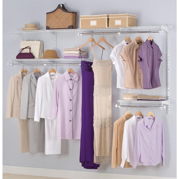 Rubbermaid FG3G5902WHT Configurations Closet Kit White
