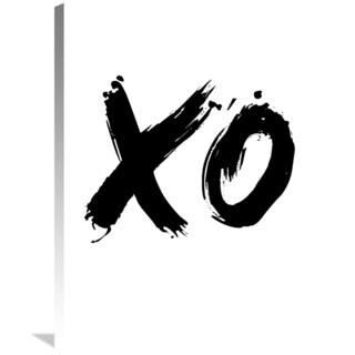 Naxart Studio 'XO' Stretched Canvas Wall Art