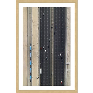 Marmont Hill - 'Seven Lanes' by Shoayb Hesham Framed Painting Print