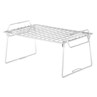 Whitmor 6023-3982 White Grid Stacking Utility Shelf