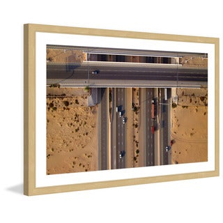 Marmont Hill - 'Overpass' by Shoayb Hesham Framed Painting Print