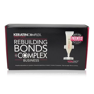Keratin Complex Vital Shot Restorative Keratin Ampoules (10 x 0.33 -ounces)