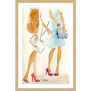Marmont Hill - 'Fashion Week' by Lovisa Oliv Framed Painting Print