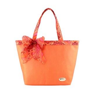 Jacki Design Summer Bliss Polyester Beach Tote Bag