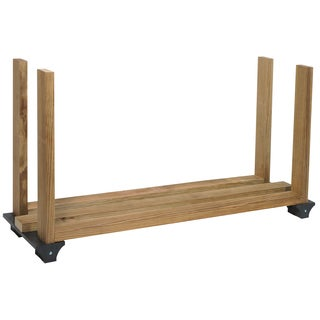 Hopkins - F3 Brands 90142 Black Firewood Rack